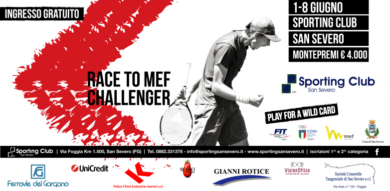 News Race To MEF Challenger 2019