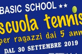 Scuola Tennis 2019-2020 - CLAMOROSE NOVITA'