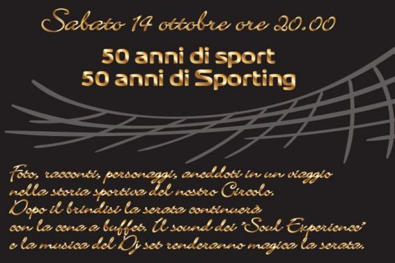 50 anni di Sport... 50 anni di Sporting